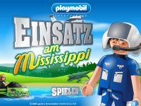 Playmobil Einsatz am Mississippi